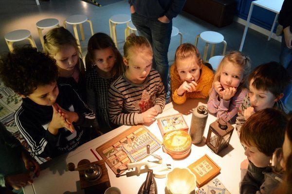 Schoolbezoek aan Museum Flehite